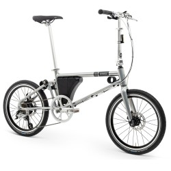 Folding electric bicycle AHOOGA -...