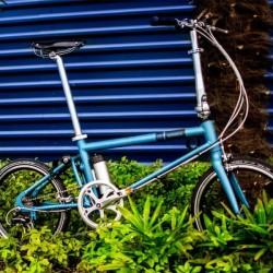 Vélo électrique Pliant AHOOGA - CONFORT+