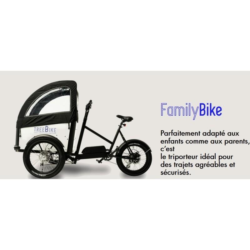 Triporteur TreeBike Family Bike