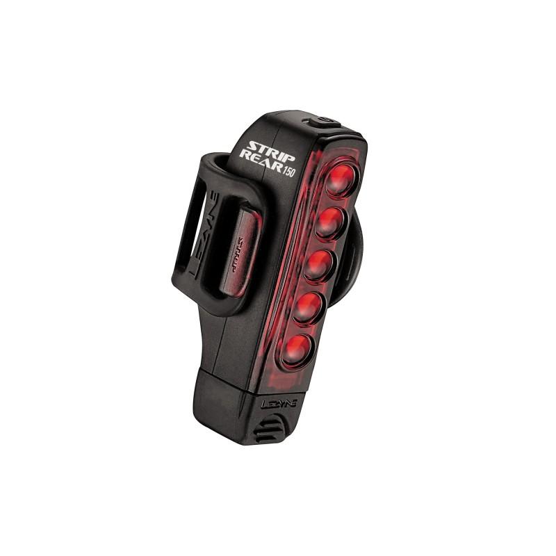Eclairage Arrière Lezyne LED Strip Drive 150 Lumens Noir