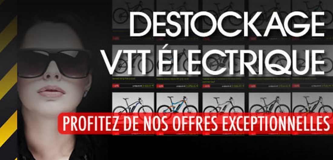 Déstockage vélo électrique